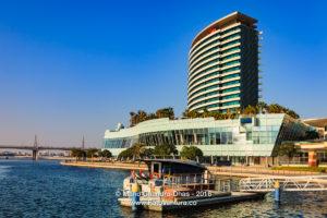 Dubai, UAE - Crowne Plaza Hotel in Festival City