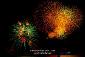 The colour of celebration - Dubai New Year