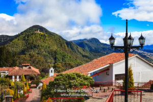 Bogota, Colombia - Looking towards Guadalupe from Monserrate