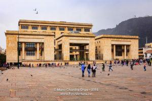 Bogota, Colombia - Palacio de Justicia on Plaza Bolivar