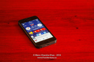 IPL Cricket score on smart phone