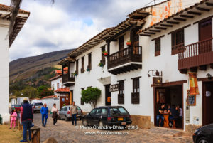 Colombia, South America - Calle 14 in Villa de Leyva
