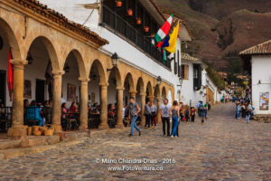 Colombia, South America - Historic 16th Century town of Villa de Leyva