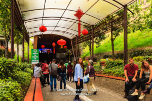Zipaquira, Colombia - Tourists at the Entrance, Catedral de Sal