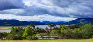 Guatavita, Colombia - El Niño at Embalse del Tominé