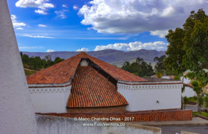 Colombia: Typical Guatavita Architecture in Andean Town