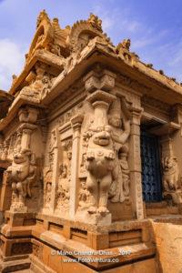Kanchipuram, India - Kailasanathar Hindu Temple