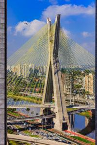 Sao Paolo, Brazil - Octavio Frias Suspension Bridge © Mano Chandra Dhas