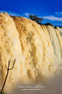 Devil's Throat at the Iguacu Falls between Brazil and Argentina Mano Chandra Dhas