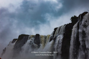 Brazil - Devil's Throat at the Iguacu Falls between Brazil and Argentina © Mano Chandra Dhas