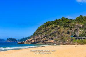 Brazil - Sao Conrado beach, Rio de Janeiro on weekday © Mano Chandra Dhas
