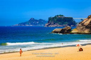 Rio de Janeiro, Brazil - Sao Conrado Beach © Mano Chandra Dhas