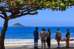 Brazil - Tourists at Baja Beach in Rio de Janeiro © Mano Chandra Dhas