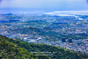 Rio de Janeiro, Brazil: Looking at City from Corcovado © Mano Chandra Dhas