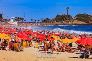Brazil - Ipanema Beach, Rio de Janeiro, Bikinis and Umbrellas © Mano Chandra Dhas
