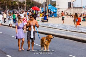 Ipanema, Rio de Janeiro - Sunday Afternoon © Mano Chandra Dhas