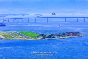 Rio de Janeiro, Brazil: Looking towards Santos Dumont Airport © Mano Chandra Dhas