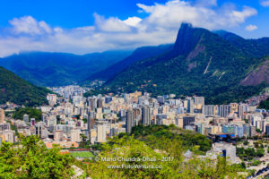 Rio de Janeiro, Brazil: looking towards Corcovado, from Sugar Loaf Mountain © Mano Chandra Dhas