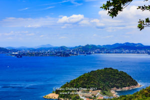Rio de Janeiro - View From the Mountain: The Atlantic Ocean © Mano Chandra Dhas