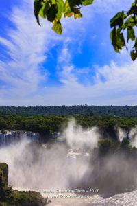Devil's Throat at the Iguassu Falls between Brazil and Argentina © Mano Chandra Dhas