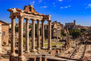 Rome, Italy - Classic view from Campidoglio © Mano Chandra Dhas