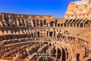 Rome, Italy - The Colosseum Interior © Mano Chandra Dhas