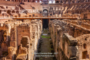 Rome, Italy - The Colosseum Interior © Mano Chandra Dhas