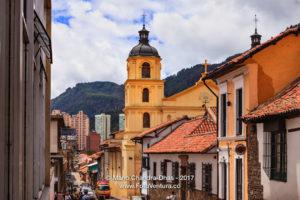 Bogota, Colombia - One of the Towers of Iglesia de Nuestra Señora de la Candelaria ©Mano Chandra Dhas
