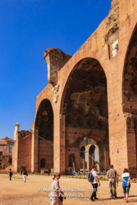 Rome, Italy - Basilica of Maxentius and Constantine © Mano Chandra Dhas