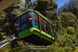 Bogotá, Colombia - A Cable Car Approaches Base Station at the Foot of Monserrate © Mano Chandra Dhas