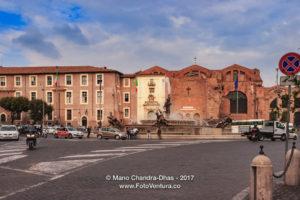 Rome, Italy - Piazza della Republica from Via Nazionale © Mano Chandra Dhas