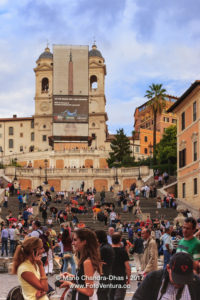 Rome, Italy - Spanish Steps or Piazza di Spagna © Mano Chandra Dhas