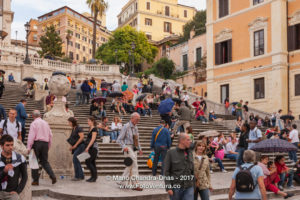 Rome, Italy - The Popular Piazza di Spagna © Mano Chandra Dhas