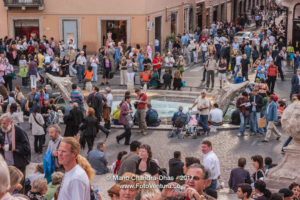 Rome, Italy - Piazza di Spagna or Spanish Steps © Mano Chandra Dhas