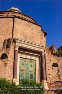 Rome, Italy - The Temple of Romulus © Mano Chandra Dhas