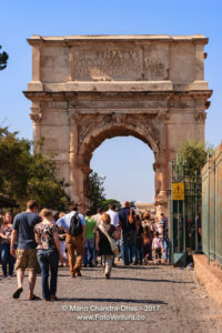 Rome, Italy - Arch of Titus. © Mano Chandra Dhas
