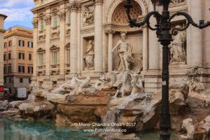 Rome, Italy - Trevi Fountain © Mano Chandra Dhas