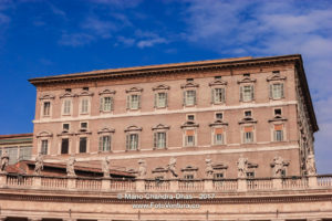 Vatican City - The Papal Apartments. © Mano Chandra Dhas