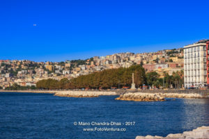 Naples, Italy - a view of the city. © Mano Chandra Dhas