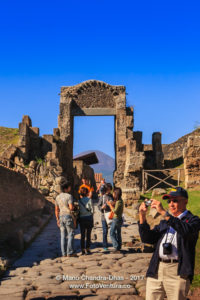 Pompeii, Italy - Gateway and street © Mano Chandra Dhas