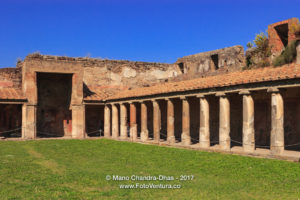 Pompeii, Italy - in the shadow of Mount Vesuvius. © Mano Chandra Dhas