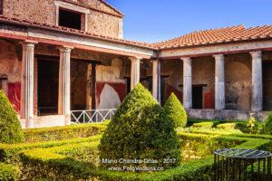 Pompeii, Italy - a luxury ruined villa. © Mano Chandra Dhas