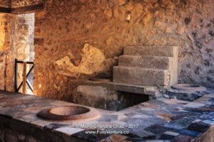 Pompeii, Italy - Ancient wine shop. © Mano Chandra Dhas