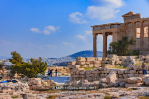 Athens, Greece - Temple of Erechtheion at the Acropolis. © Mano Chandra Dhas