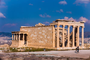 Athens, Greece - The Erectheion; North side of the Acropolis © Mano Chandra Dhas
