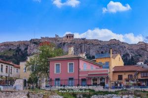 Athens, Greece - The Erechtheion from Monastiraki © Mano Chandra Dhas