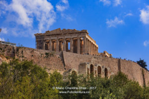 Athens Greece - The iconic Parthenon on the Acropolis © Mano Chandra Dhas
