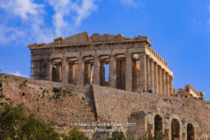 Athens Greece - The iconoic Parthenon on the Acropolis © Mano Chandra Dhas