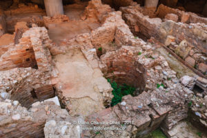 Greece - Archeological excavations of old ruins in Athens © Mano Chandra Dhas