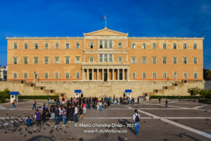 Athens, Greece - The Greek Parliament; once King Otho's Palace © Mano Chandra Dhas